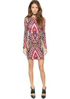 Mara Hoffman Deep V Back Mini Dress