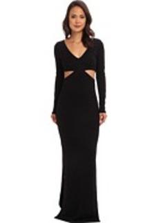 Mara Hoffman Deep V Cutout Gown