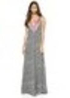 Mara Hoffman Deep V Gown