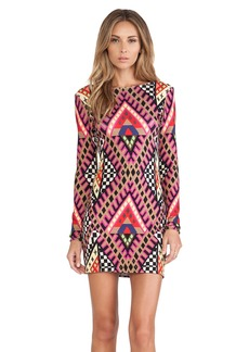 Mara Hoffman Deep V Mini Dress