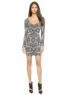 Mara Hoffman Deep V Side Cutout Dress