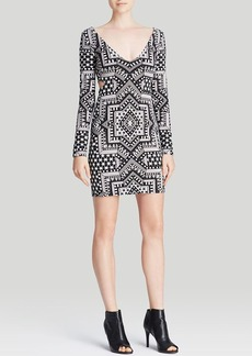 Mara Hoffman Dress - Deep V Star Jacquard