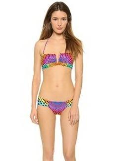 Mara Hoffman Electrolight V Wire Bikini Top