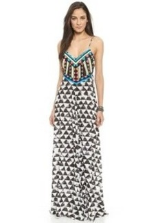 Mara Hoffman Embellished Cover Up Dress