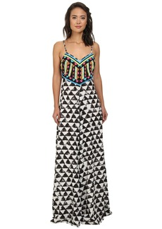 Mara Hoffman Embellished Maxi Dress