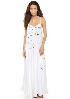 Mara Hoffman Embroidered Maxi Dress