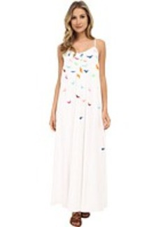 Mara Hoffman Embroidered Tank Maxi Dress