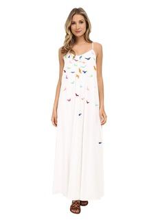 Mara Hoffman Embroidered Tank Maxi Dress