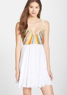 Mara Hoffman Embroidered Tie Back Dress