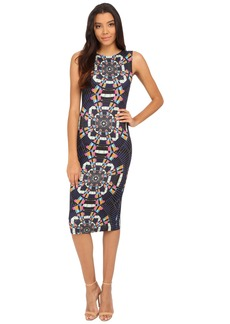 Mara Hoffman Fitted Sleeveless Midi Dress