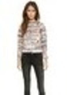 Mara Hoffman Fringe Sweatshirt