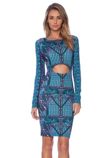 Mara Hoffman Front Cutout Midi Dress