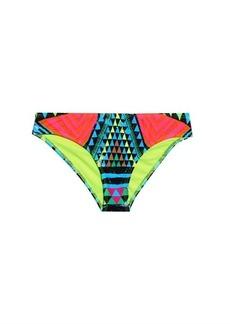 Mara Hoffman Geometric-print bikini briefs