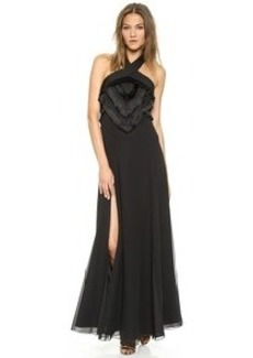 Mara Hoffman High Slit Gown