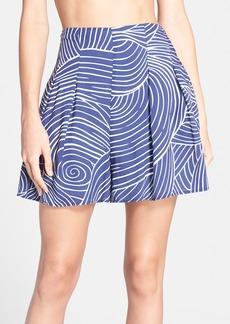 Mara Hoffman High Waist Print Shorts