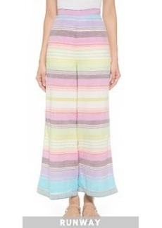 Mara Hoffman High Waist Wide Leg Trousers