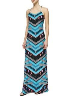 Mara Hoffman Jersey V-Neck Camisole Gown