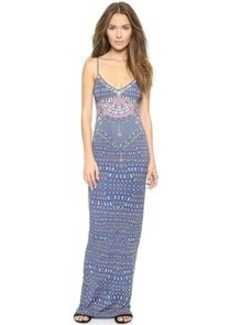 Mara Hoffman Lace Up Maxi Dress