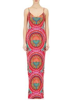 Mara Hoffman Lattice-Back Maxi Dress