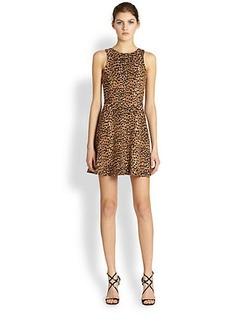 Mara Hoffman Leopard Circle Dress