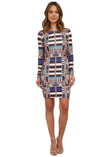 Mara Hoffman Long Sleeve Fitted Dress