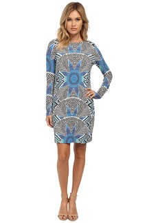 Mara Hoffman Long Sleeve Ponte Shift Dress