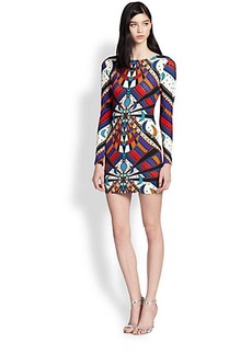 Mara Hoffman Lunar Eclipse Printed Body-Con Dress