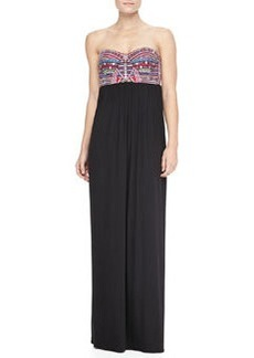 Mara Hoffman Mirror Bustier Maxi Dress