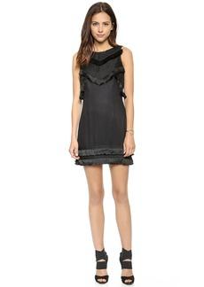 Mara Hoffman Open Back Mini Braided Dress