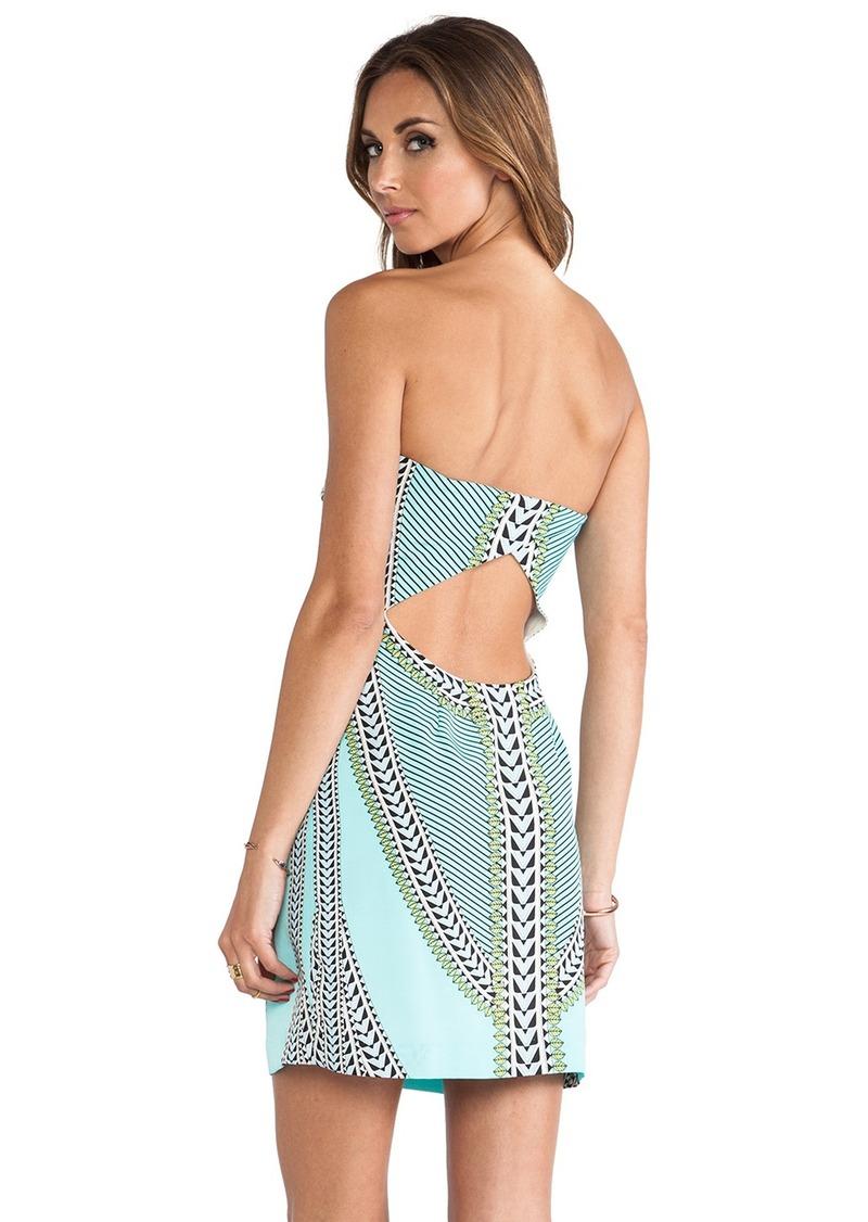 Mara Hoffman Printed Strapless Mini Dress