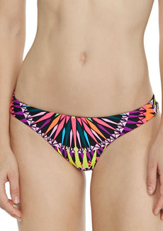 Mara Hoffman Reversible Low-Rise Swim Bottom, Black