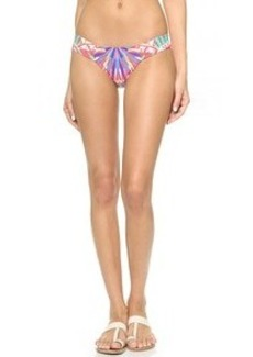 Mara Hoffman Reversible Side Ruched Bikini Bottoms