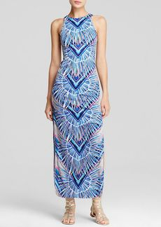 Mara Hoffman Rising Palm Column Maxi Dress