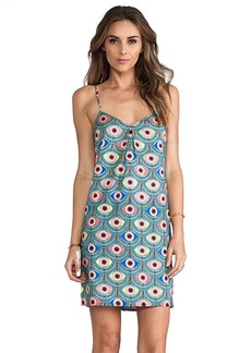 Mara Hoffman Shift Dress in Blue