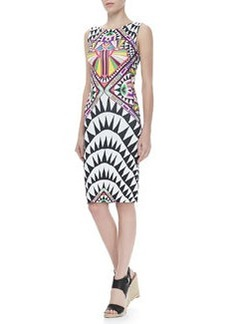 Mara Hoffman Side-Cutout Fitted Dress