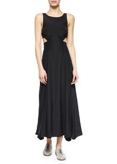 Mara Hoffman Side-Cutout Maxi Dress