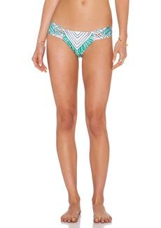Mara Hoffman Side Ruched Bikini Bottom