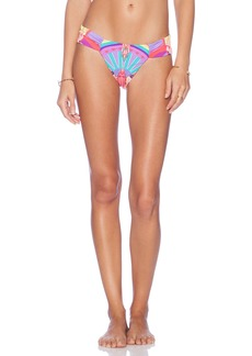 Mara Hoffman Side Ruched Bikini Bottom