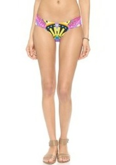 Mara Hoffman Side Ruched Bikini Bottoms