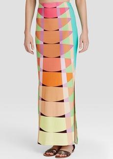 Mara Hoffman Ponte Maxi Skirt