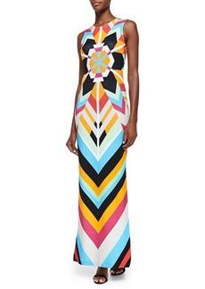 Mara Hoffman Sleeveless Printed Maxi Dress