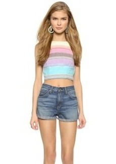 Mara Hoffman Striped Crop Tank