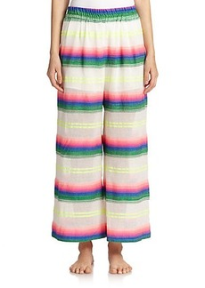 Mara Hoffman Striped Wide-Leg Pants