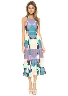 Mara Hoffman Tie Back Cutout Dress