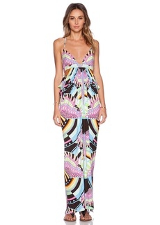 Mara Hoffman Triangle Cut Out Maxi Dress