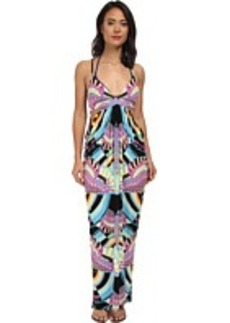 Mara Hoffman Triangle Top Cutout Maxi