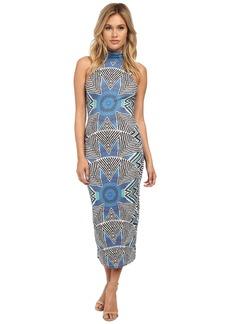 Mara Hoffman Turtleneck Midi Dress