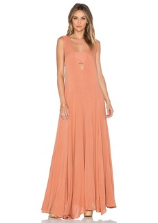 Mara Hoffman V-Neck Maxi Dress