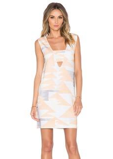 Mara Hoffman V-Neck Mini Dress