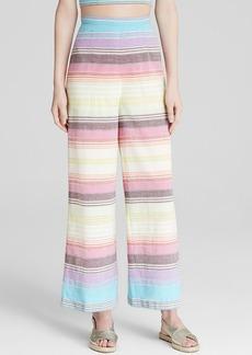 Mara Hoffman Wide Leg Pant - Rainbow Stripe
